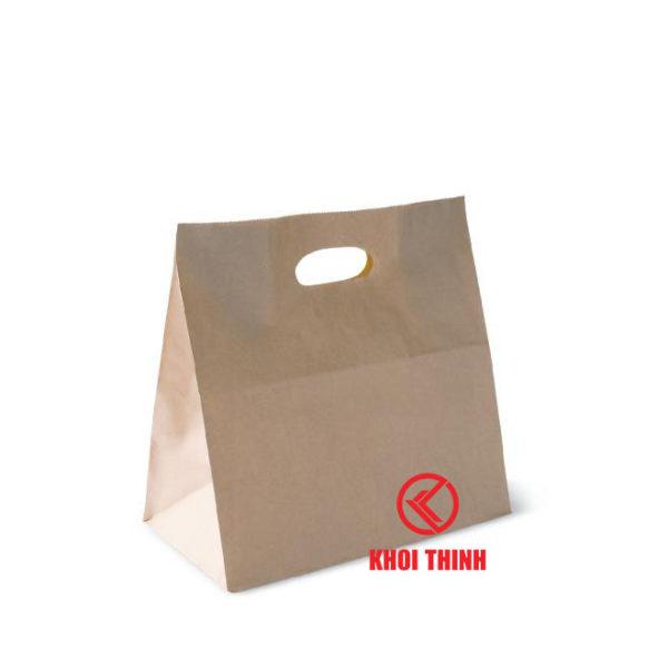 túi giấy kraft đáy vuông m02