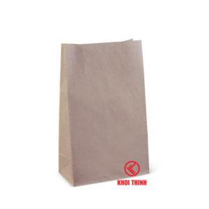 túi giấy kraft đáy vuông