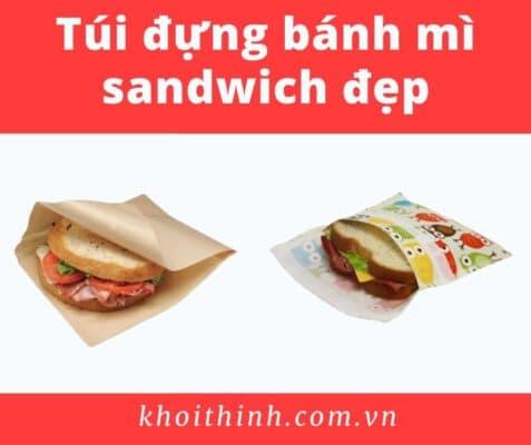 Túi đựng bánh mì sandwich đẹp
