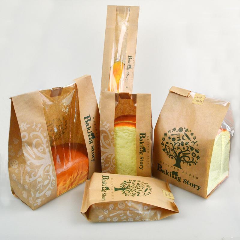 túi giấy thực phẩm đựng bánh mì